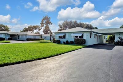 Delray Beach Single Family Home For Sale: 444 Bluebird Lane #444