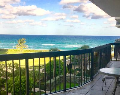 Palm Beach Condo For Sale: 3440 S Ocean Boulevard #404s