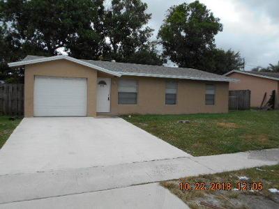 Boynton Beach Single Family Home For Sale: 216 SW 4th Avenue