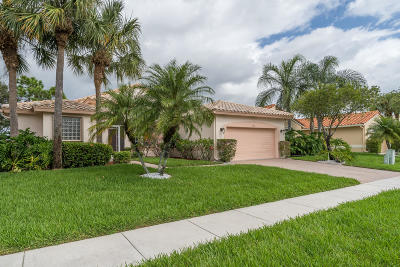 Boynton Beach Single Family Home For Sale: 6661 Garde Road