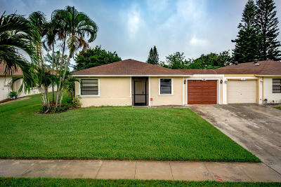 West Palm Beach Single Family Home For Sale: 1600 Granfern Avenue