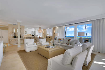 Palm Beach Condo For Sale: 330 S Ocean Boulevard #1c