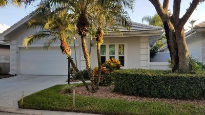 Palm Beach Gardens Single Family Home Contingent: 226 Canterbury Drive W