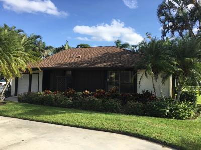 Palm Beach Gardens Single Family Home For Sale: 13395 Crosspointe Drive