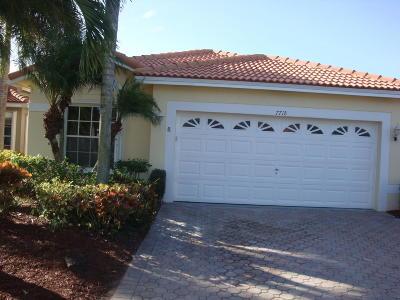 Boynton Beach Single Family Home For Sale: 7718 Cherry Blossom Street