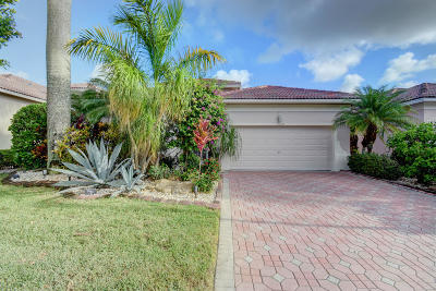 Boynton Beach Single Family Home For Sale: 7139 Southport Drive