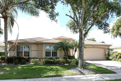 Boynton Beach Single Family Home For Sale: 11702 Caracas Boulevard