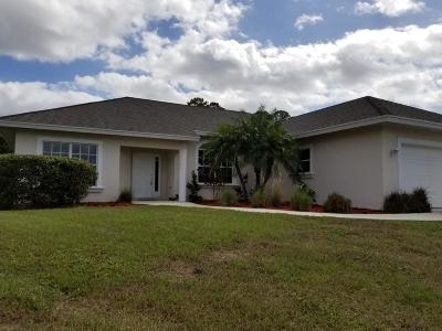 Port Saint Lucie FL Single Family Home For Sale: $290,900