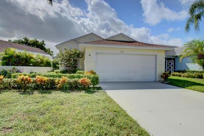 Delray Beach Single Family Home For Sale: 7537 Mansfield Hollow Road