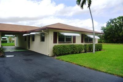 Delray Beach Single Family Home For Sale: 524 Sandpiper Circle