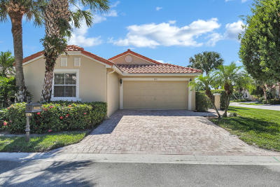 Boynton Beach Single Family Home For Sale: 7276 Whitfield Avenue