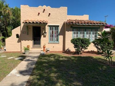 West Palm Beach Single Family Home For Sale: 227 Lakeland Drive