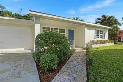 West Palm Beach Single Family Home For Sale: 125 Rutland Boulevard