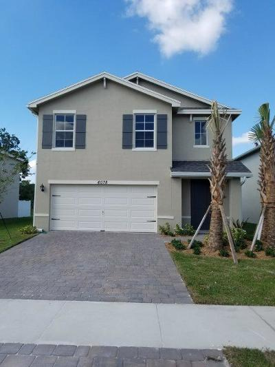 West Palm Beach Single Family Home For Sale: 6078 Wildfire Way