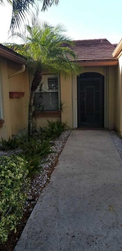 boynton beach Single Family Home For Sale: 6005 SW Forest Grove Drive SW #1