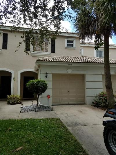 West Palm Beach Townhouse For Sale: 4559 Palmbrooke Circle
