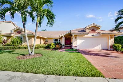 Boca Raton Single Family Home For Sale: 11870 Island Lakes Lane
