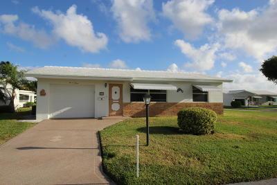 boynton beach Single Family Home For Sale: 1007 SW 7th Avenue