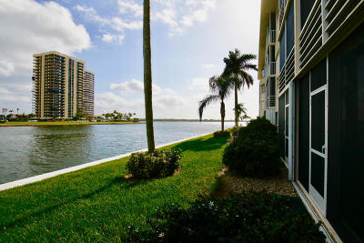 North Palm Beach Condo Contingent: 28 Yacht Club Drive #105