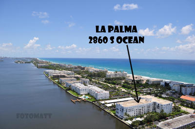 Palm Beach Condo For Sale: 2860 S Ocean Boulevard #205