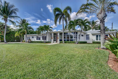 West Palm Beach Single Family Home For Sale: 135 Churchill Road