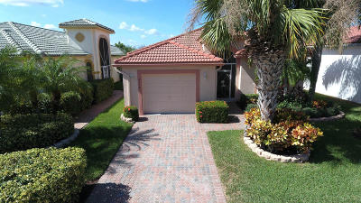 Boynton Beach Single Family Home For Sale: 8178 Bellafiore Way