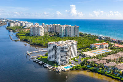 Highland Beach Condo For Sale: 3912 S Ocean Boulevard #504