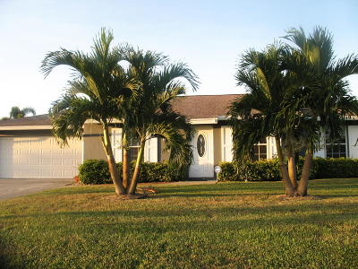 Lake Worth Single Family Home For Sale: 74 W Rubber Tree Drive