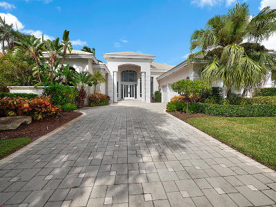 Palm Beach Gardens FL Single Family Home For Sale: $1,399,000