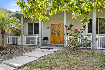 Fort Pierce Single Family Home For Sale: 5205 S Citrus Avenue