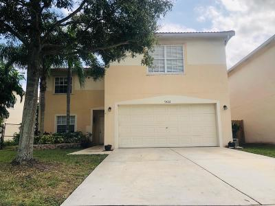 Lake Worth Single Family Home For Sale: 5422 Rivermill Lane