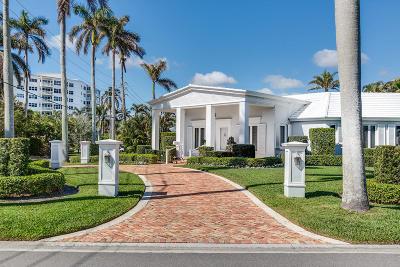 Palm Beach County Single Family Home For Sale: 104 Seabreeze Avenue