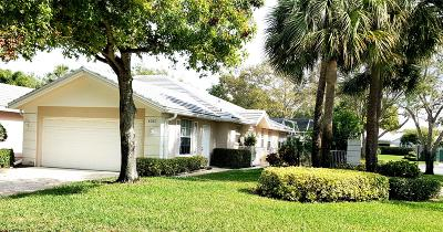 Palm Beach Gardens Single Family Home Contingent: 4357 Lacey Oak Drive