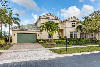 West Palm Beach Single Family Home For Sale: 2123 Belcara Court