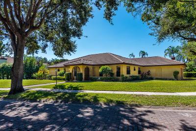 Boca Raton Single Family Home For Sale: 6554 Timber Lane