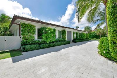 Palm Beach Single Family Home For Sale: 170 Everglade Avenue