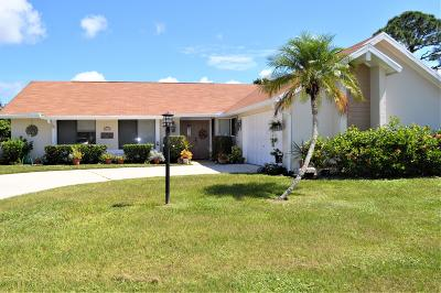 Port Saint Lucie Single Family Home For Sale: 2633 SE Gowin Drive