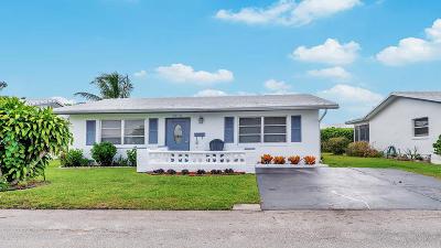Tamarac Single Family Home Contingent: 5718 NW 81st Terrace