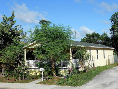 Lake Worth Single Family Home For Sale: 504 S C Street