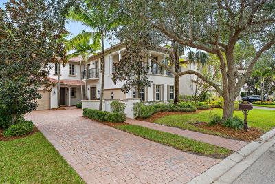 Palm Beach Gardens Single Family Home Contingent: 1418 Barlow Court