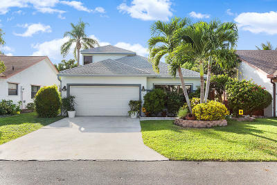 Boynton Beach Single Family Home For Sale: 115 W Tara Lakes Drive W