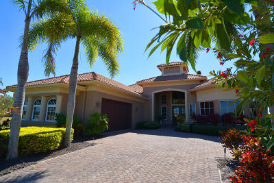 Port Saint Lucie Single Family Home For Sale: 120 SE Via San Marino