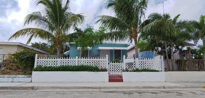 Lake Worth Single Family Home For Sale: 629 F Street