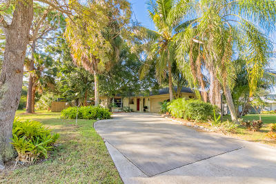 Palm City Single Family Home For Sale: 1350 SW Sunset Trail