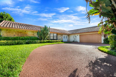 Boynton Beach Single Family Home For Sale: 11284 Piping Rock Drive