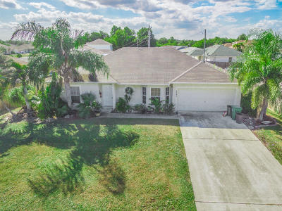 Port Saint Lucie Single Family Home For Sale: 4042 SW Kadlic Street