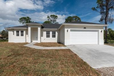 Loxahatchee Single Family Home For Sale: 17889 63rd Road