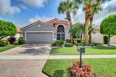 Boynton Beach Single Family Home For Sale: 7365 Haviland Circle