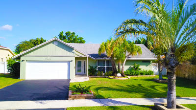 Delray Beach Single Family Home For Sale: 3727 NW 9th Street
