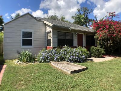 Greenacres Single Family Home For Sale: 425 Broward Avenue